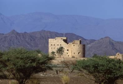 Oman Jabreen Festung