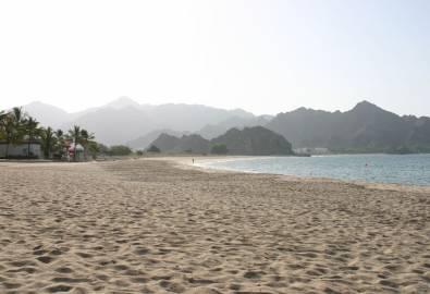 Oman Muskat Strand Al Bustan