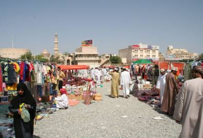 Oman Nizwa Markt