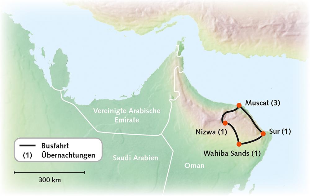 Oman - Zauber des Weihrauchlandes