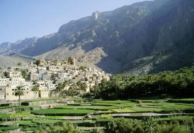 Oman Berge Jebel Akhdar