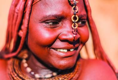 Namibia Himba Menschen