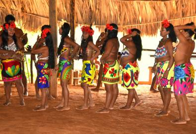 Eingeborene in Panama