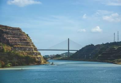 Panama-Kanal - Centenario Brücke