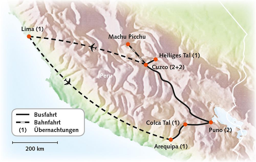 Peru - Auf den Spuren der Inkas