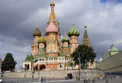 Russland - Moskau Basilius Kathedrale