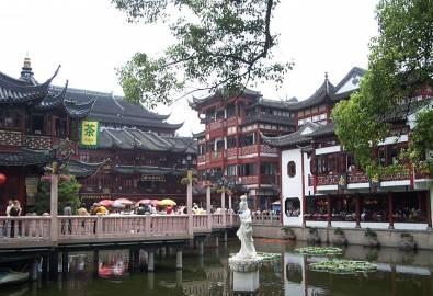 Shanghai_Yu Garden-Teehaus