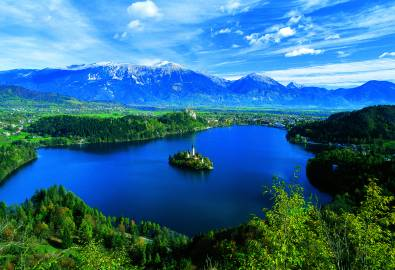 Slowenien_Bleder See