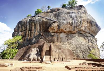 Sri Lanka Sigiriya Felsen