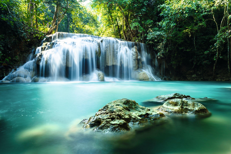 Thailand - Erawan Wasserfall