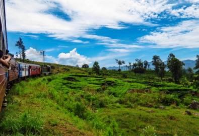 Sri Lanka Zugfahrt Kandy Nanu Oya