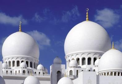 VAE Abu Dhabi Große Moschee