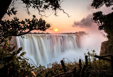 Simbabwe - Victoria Falls Sunrise