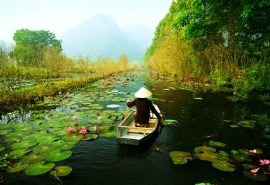 Vietnam - Ruderboot