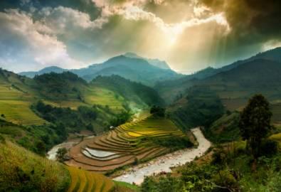 Vietnam - Landschaft