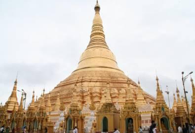 Myanmar - Yangon Shwedagon Pagode