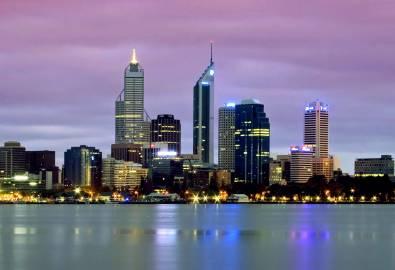 australien-perth-skyline