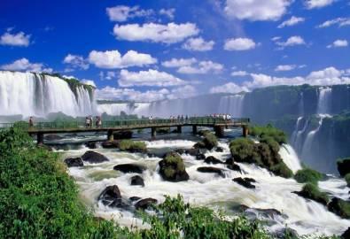Brasilien Iguacu Wasserfälle