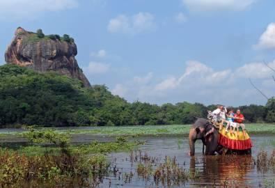 Sri Lanka Elefanten Ritt