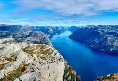 Norwegen - Pulpit Rock