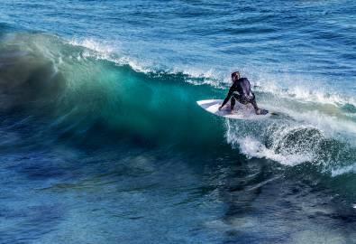 Ostküste - Surfer