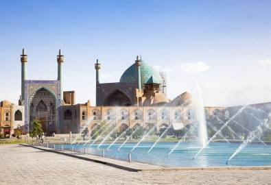 Jame Abbasi mosque on Naqsh-i Jahan Square , Esfahan
