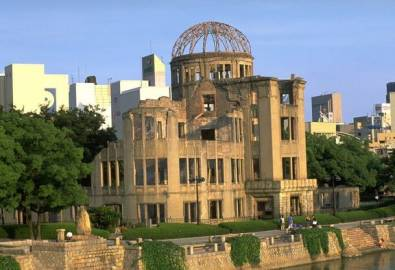 Japan Hiroshima Atombombedom im Friedenspark