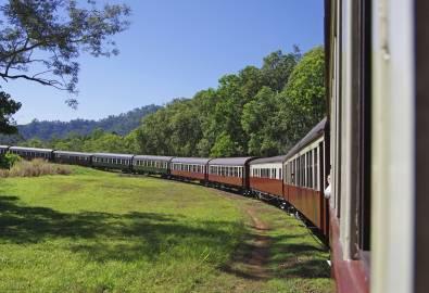 Kuranda - historische Zugfahrt
