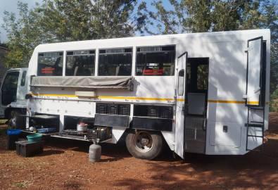 Ausstattung eines Nomad Trucks