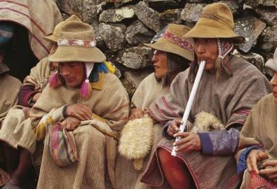 Peru Cusczo Indiofamilie