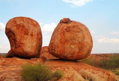 Australien Devils Marbles