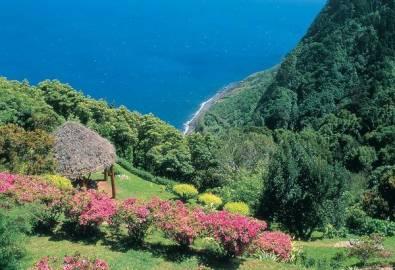 Azoren Blick auf Meer