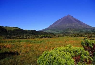 Azoren Pico Vulkan