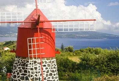 Azoren Windmühle