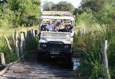 Botswana Moremi Third Bridge Camp