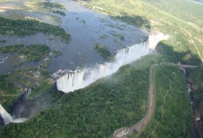 Botswana Viktoria Fälle
