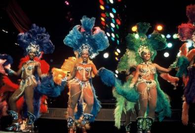 Brasilien Karneval Sambashow