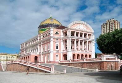 Brasilien Manaus Oper