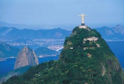 Brasilien Rio de Janeiro Zuckerhut Corcovado