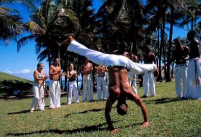 Brasilien Capoeira Tänzer