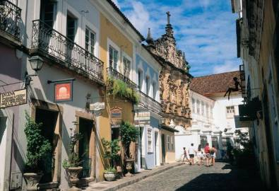 Brasilien Salvador Strasse