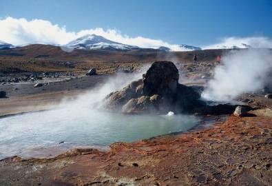 Chile Atacama Wasserlöcher