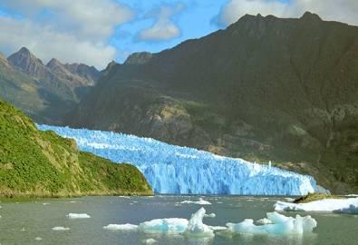 Chile San Rafael Gletscher