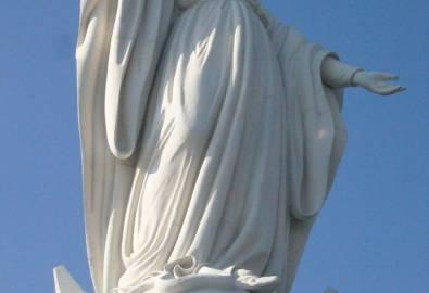 Chile Santiago Statue Maria