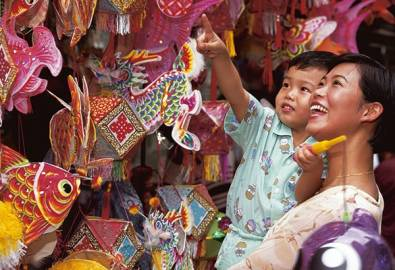 China Hongkong Mutter Kind