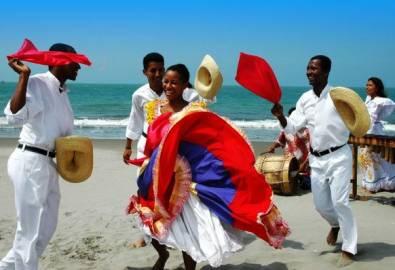 Ecuador Galapagos Folklore Tänzer