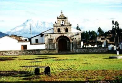 Ecuador Kirche
