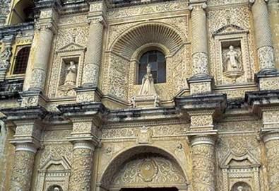 Guatemala Antigua Kirche La Merced