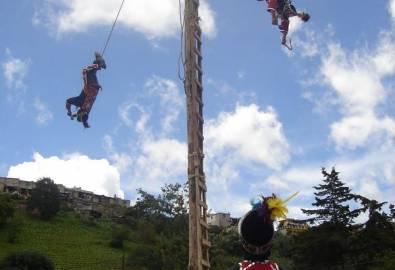 Guatemala Palo Volador Tanz