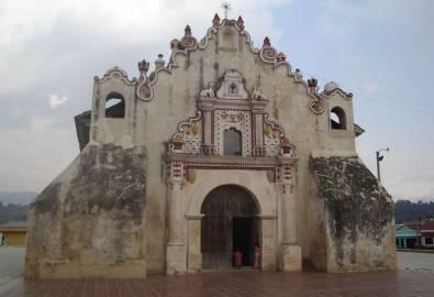 Guatemala San Jacinto Kirche Salcaja